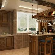 深色调厨房装修