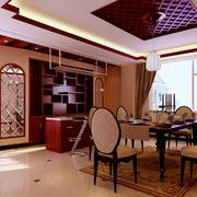 经典现代实木红酒柜