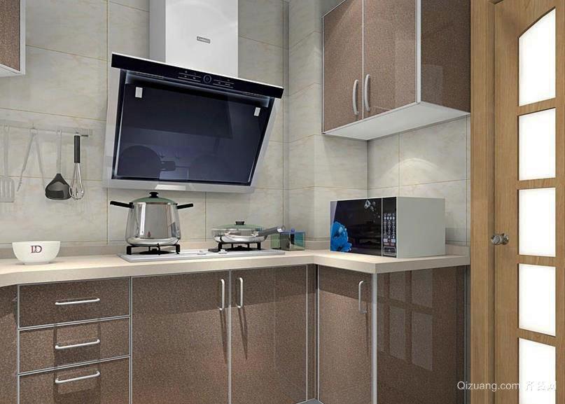风格多变:2015大户型别墅橱柜设计效果图