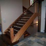 古朴阁楼楼梯装修效果图