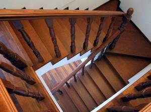 造型多样:复式楼阁楼楼梯装修效果图