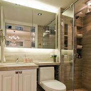 欧式卫生间镜子装修
