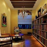 美式设计书房展示