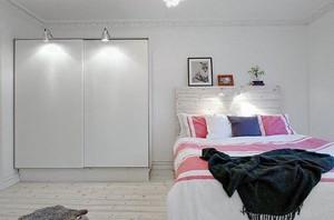 简约时尚单身公寓小卧室装修