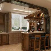 古典中式家装吧台设计装修