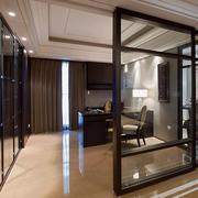 书房玻璃隔断设计
