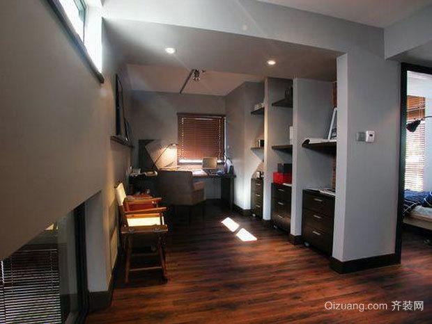 30平米家用后现代风格书房装修效果图