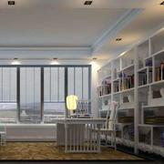 书房吊顶效果图
