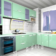 清新淡雅型厨房装修
