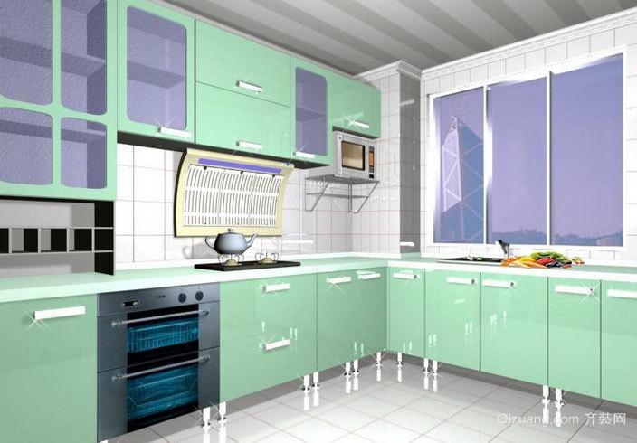2015大户型宜家风格厨房装修效果图