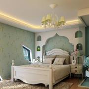 暖色地中海风格卧室
