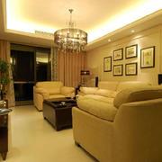 家庭客厅灯光设计