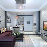经典简约客厅装修设计