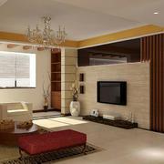 暖色精致客厅