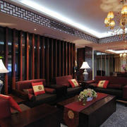 复古典雅大户型客厅