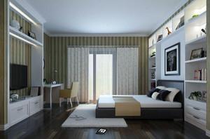 卧室精致窗帘图