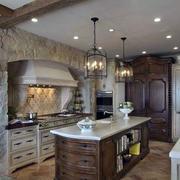 高档华美厨房装修设计