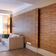 沙发背景墙门装修图