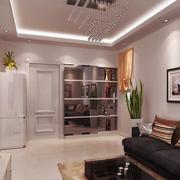 安静祥和50平客厅设计