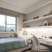 淡色调小卧室装修设计