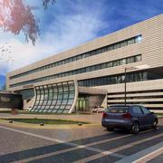 造型独特办公楼设计