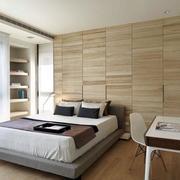 卧室隐形书柜门设计案例