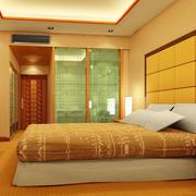 宾馆卧室床头背景墙