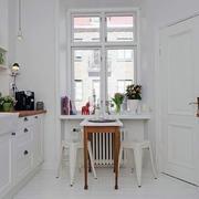 清新唯美小户型厨房装修