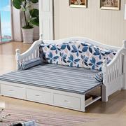 田园风格沙发床效果图