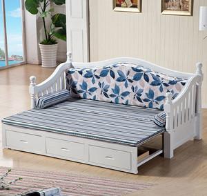 现代简约风格多功能沙发床装修效果图