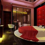 宾馆圆床设计