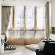 客厅窗帘图