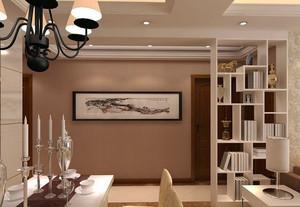 都市时尚:100㎡大户型客厅隔断装修效果图展示
