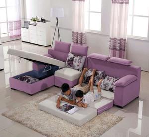 精装时尚家具之多功能沙发床效果图大全