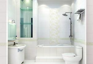 白色纯净型卫生间