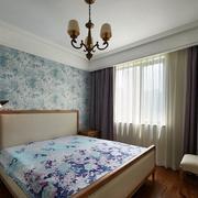 小户型卧室窗帘展示