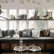 唯美白色客厅设计