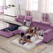 储物柜式沙发床设计