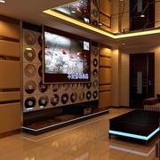 ktv电视背景墙设计