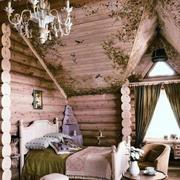 原木卧室设计