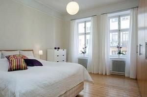 优雅的家居窗帘装修效果图片