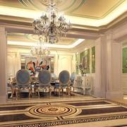 美丽的欧式餐厅设计