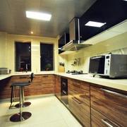 厨房整体吧台设计