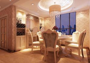 欧式餐厅吊顶设计