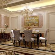 时尚的欧式餐厅图片展示