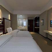 双人单间宾馆房间
