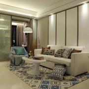 客厅50平米设计效果图展示