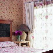 简欧田园风格阁楼卧室