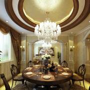 餐厅内部灯光设计