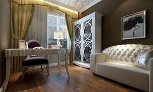 欧式风格书房沙发设计